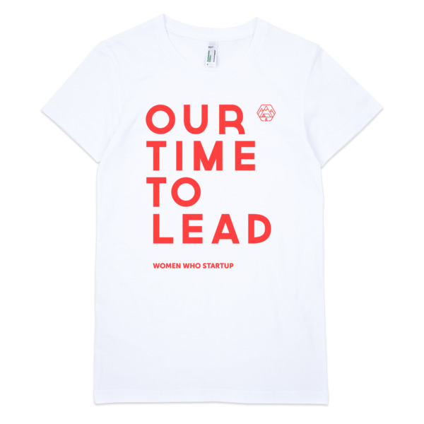 Our Time To Lead, Women's tee